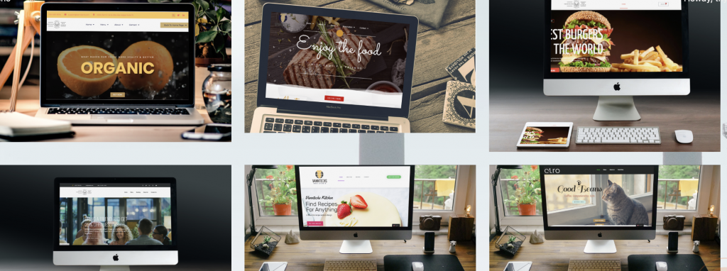 A beautiful and professional website designs from a local website agency in Montreal Canada.