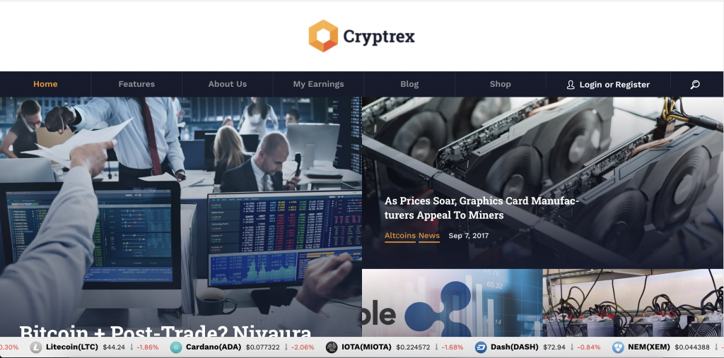Cryptrex is a retailer of crypto mining equipment for mining your own Bitcoin and other crypto-currency.