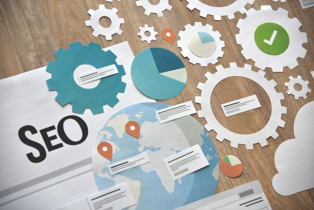 Web marketing with SEO combine with Google Analytics or social media and content marketing will make your website successful
